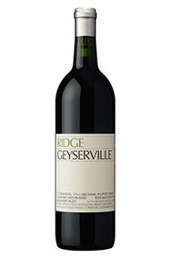 2012 Ridge Geyserville, Sonoma County, California