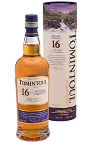 Tomintoul, 16-year-old, Speyside, Single Malt Scotch Whisky (40%)