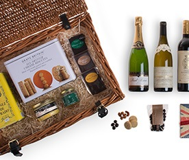Christmas Gifts - Wine and Food Hampers